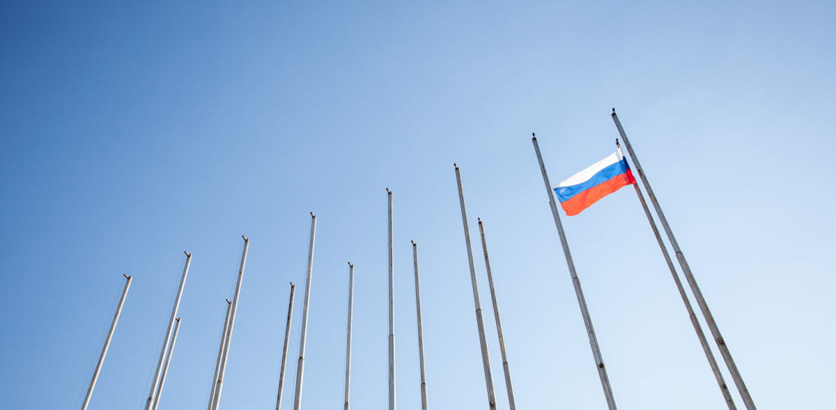 Russian flag getty images