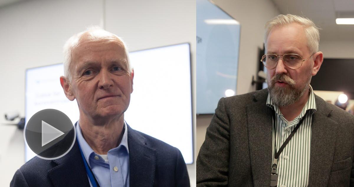 Johan Torgersen og Geir Bukholm
