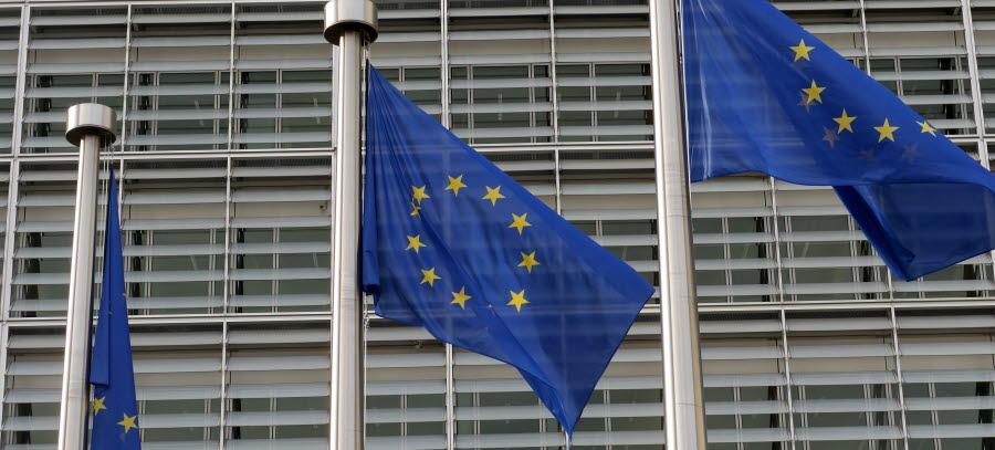 Bilde av EU-flagg