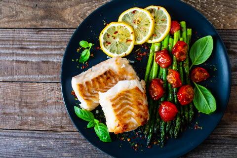 Illustrasjonsbilde av mager fisk som reduserer risiko for diabetes type 2