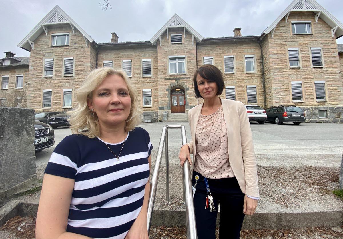 Janne Sund og Hedda Soløy-Nilsen